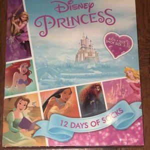 Disney Princess 12 Days Of socks